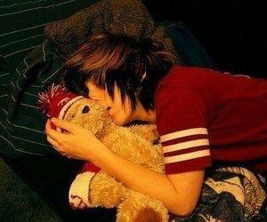 cute, boy, and sleeping image