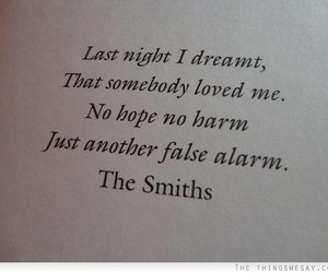 quotes, love, and the smiths image