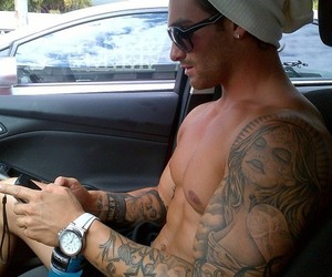 guy, Hot, and love it image