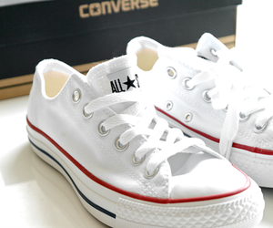 all star, clean, and converse image
