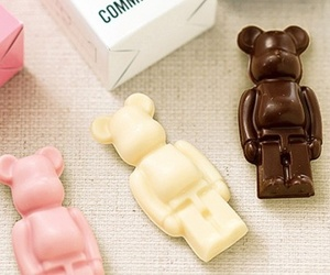 chocolate, bearbrick, and commecaism image