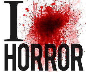 horror, blood, and love image