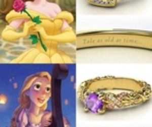 disney, rings, and princess image