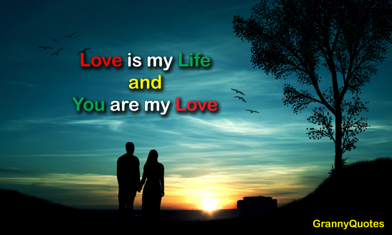 Love Is My Life And You Are My Love See More At Httpwww