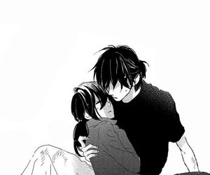 anime, guy, and romance image