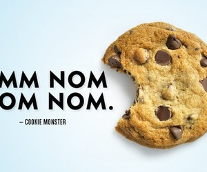 cookie, food, and monster image