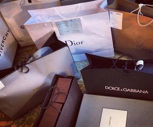 dior, shopping, and Givenchy image