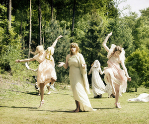 dancing, florence and the machine, and florence + the machine image