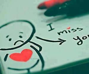 black, miss you, and white image