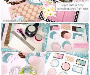 diy, gift tags, and ideas image