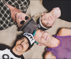 red hot chili peppers, rhcp, and flea image