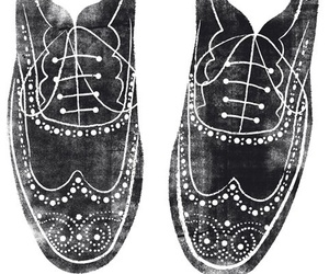 shoes, drawing, and illustration image