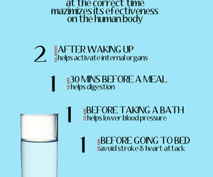 drinking water, schedule, and water image