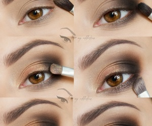 eyes, fashion, and model image