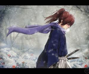 manga, rurouni kenshin, and anime image