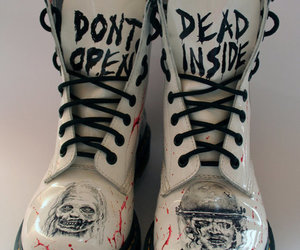 boots, shoes, and dead image