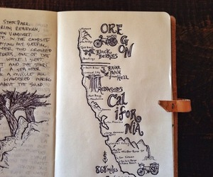 california, art, and book image