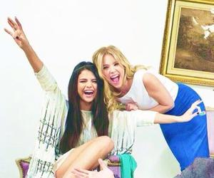 selena gomez, ashley benson, and selena image