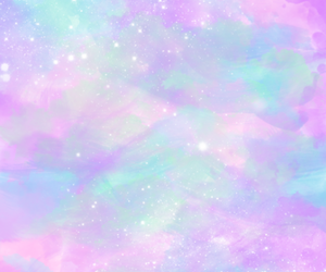 colors, stars, and soft pastel image