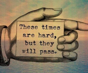quotes, hard, and pass image