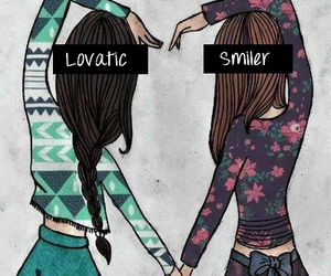 best friend, demi lovato, and forever image