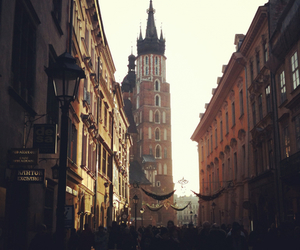 cracow, old town, and street image