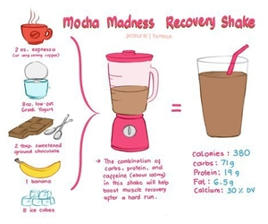 fitness, healthy, and shake image