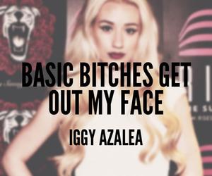 quote, iggy azalea, and basic image