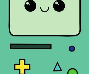 bmo, green, and mobile phone image