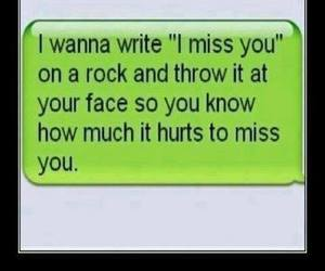 funny love and i miss you image