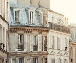 building, paris, and city image
