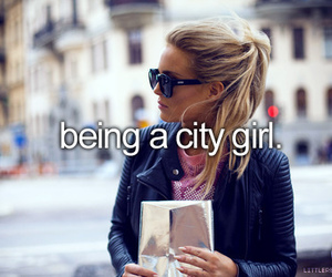 city, girl, and quote image