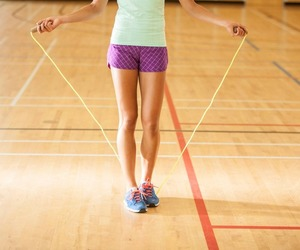 fit, health, and rope image