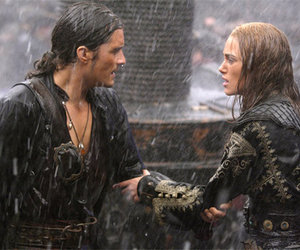 will turner, pirates of the caribbean, and orlando bloom image