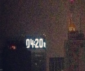 420, 4:20, and marijuana image