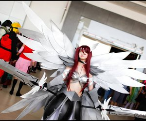 fairy tail, cosplay, and erza scarlet image