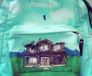 pierce the veil, band, and collide with the sky image