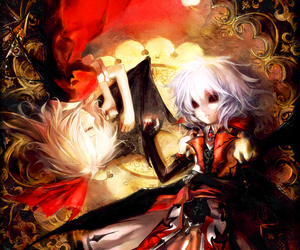 anime, girl, and gothic image