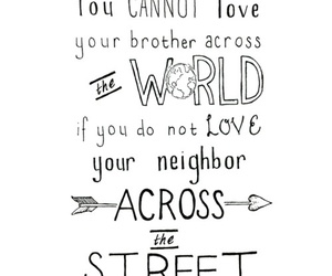 love, world, and brothers image