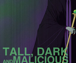 maleficent, disney, and MALICIOUS image