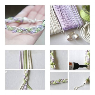 How To Make Simple Beautiful Bracelet Step By DIY Tutorial Instructions