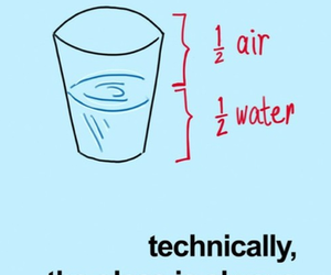 water, glass, and air image