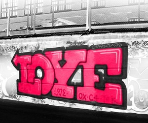 graffiti, I Love You, and kiss me image