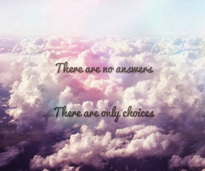 answer, choice, and frases image