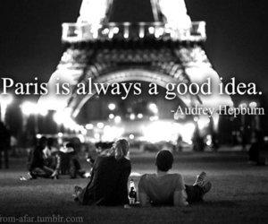 love, paris, and cute image