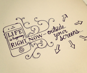 life, quotes, and screen image