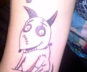 arm, tattoo, and frankenweenie image