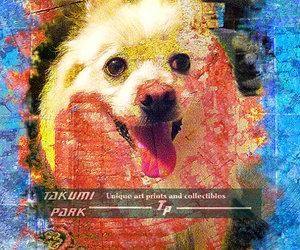 wall art, dog art, and kawaii art image