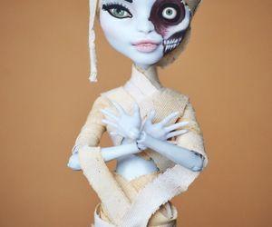doll, gothic, and mummy image