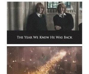 harry potter, weasley twins, and fred weasley image